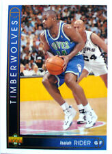 CARTE  NBA BASKET BALL 1994  PLAYER CARDS ISAIAH RIDER (119)