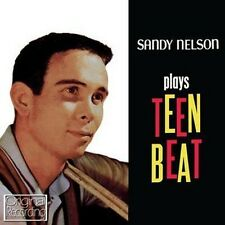 CD SANDY NELSON plays TEEN BEAT DRUM PARTY JIVIN' AROUND FUNNY FACE IN THE MOOD
