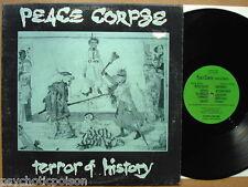 PEACE CORPSE - TERROR OF HISTORY  LP   Toxic Shock – TXMLP-05