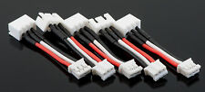 5 Pack: 2S JST-XH to E-Flite Blade 130x / Beast (UMX) Lipo Battery Adapters