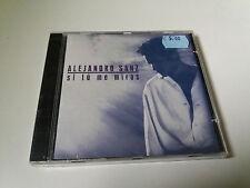 "ALEJANDRO SANZ ""SI TU ME MIRAS"" CD PRECINTADO SEALED 10 TRACK"