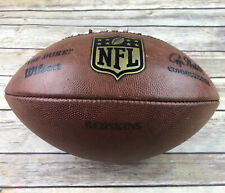 "Rare NFL Official Wilson Game Used Football ""The Duke"" - Washington Redskins"