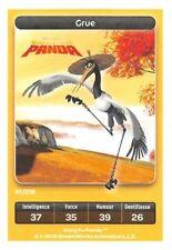 Carte Carrefour Dreamworks - kung fu panda - Grue N° 91