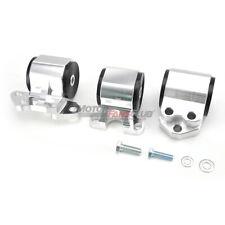 3-Bolt Engine Mounts For Honda Del Sol 1993-97 Civic 92-95 Acura Integra 94-2001