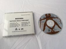 MADONNA *NOTHING REALLY MATTERS* VERY RARE 1998 USA PROMO CD!! PRO-CD-9647-R
