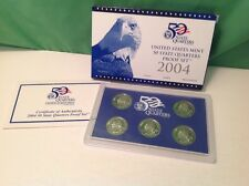 2004 U. S. Mint 50 state Quarters Proof coin set, original packaging & COA
