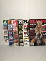 Lot Of 6 2003 Playboy Magazines Torrie Wilson Carmen Electra