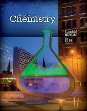 Introductory Chemistry Steven S. Zumdahl Donald J. DeCoste 8th Ed