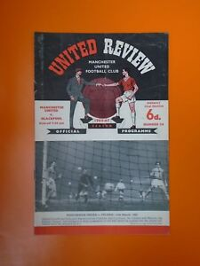 League Division One - Manchester United v Blackpool - 22nd March 1965