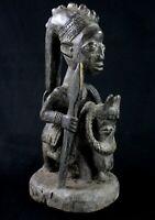 Arte Africano Pasqua Kunst - Cavaliere Yoruba - Africano Horserider - 39 CMS