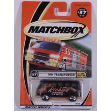 Matchbox 2000 #57 VW Transporter, Black, Volkswagen, Speedy Delivery, new card