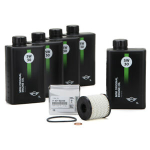 ORIGINAL MINI Motoröl ÖL 5W30 LL-04 Longlife-04 5 Liter + Ölfilter 11427622446