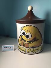 Vintage COOKIE MUNCHER Cookie Jar - Kiwiana - Cookie Time Mascot Retro