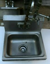 Stainless Steel Hand Sink With Faucet Commercial Kitchen Restaurant