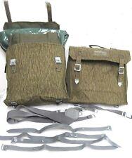 2 Simson MZ Seitentaschen NVA Taschen gummiert  Sturmgepäcktaschen S50 S51 DDR