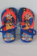Toddler Boys Flip Flops Paw Patrol Shoes Medium 7 - 8 Rescue Dogs Blue Sandals