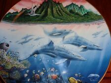 Danbury Mint Collectors Plate HAWAIIAN MUSES From UNDERWATER PARADISE