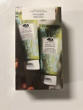 New ORIGINS Drink Up Intensive Overnight Mask Duo SEALED 3.4 oz each