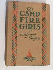 The Campfire Girls at Driftwod Heights 1st. in Dust Jacket  Margaret Sanderson