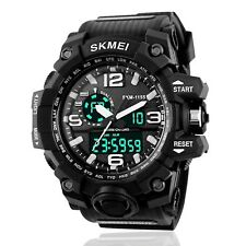 Men Electronics Digital Lights Durable Watch Males Wrist Cool Fashion Military D