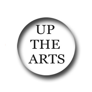 UP THE ARTS PIN BADGE (1 inch / 25mm) CHEAP POSTAGE FOR BULK BUYS