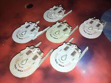 Star Trek Micro Machines Lot X6 USS Reliant Space Star Ship Federation Fleet