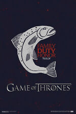 Game of Thrones Tully Motto HBO TV Poster - 12x18