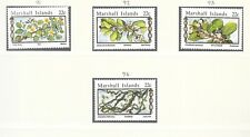MARSHALL ISL SC 91-94+94A NH issue of 1985 - FLOWERS