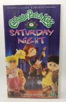 Cabbage Patch Kids - Saturday Night VHS Video Tape Cassette Vintage Classic TBLO