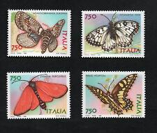 francobollo repubblica italiana 1996 - Farfalle serie 4 valori nuovi mnh
