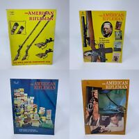 Lot of 4 American Rifleman Magazines Oct 1970, May June July 1971 Vintage