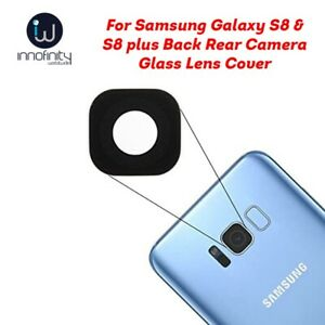 For Samsung Galaxy S8 & S8 plus Back Rear Camera Glass Lens Cover