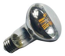 R63 E27 (es) 240V 6W 600LM Blanco Cálido (2700K) LED Filamento Bombilla Spotlight ~ 60W