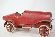 Early 1900's Pinard Windup Tin Race Car, Original