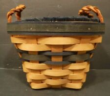 Longaberger 1999 Collectors Edition Collector's Club Basket Insert Liners Handle