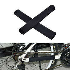 2X Cycling Bicycle Bike Frame Chain stay Protector Guard Nylon Pad Cover Wrap2tj