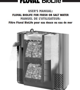Fluval Biolife,Filter Sponge,Filter Foam,Filter Cartridge Internal Filter,Active