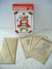 "Strawberry Shortcake 21"" doll pattern & clothes Uncut. 1983; complete."