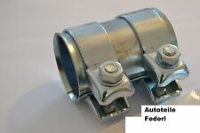 Rohrverbinder/Doppelschelle 56 mm x 95 mm  Audi, Citroen, VW, VAG, Saab, usw.
