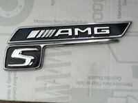 Original Mercedes AMG S line Schriftzug Aufkleber Emblem Set embleme kotflügel