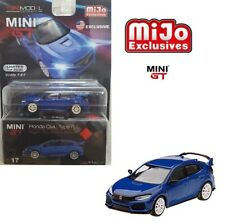 TSM 1:64 MINI GT Honda Civic Type R FK8 Modulo Edition Aegean Blue MGT00017