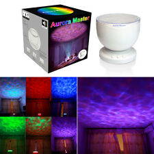 Aurora Master Projector Pot Night Colorful LED Light Ocean Wave Speaker Romantic