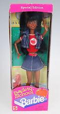 Barbie Back to School African American Doll Mattel Vtg 1996 NIB Special Edition