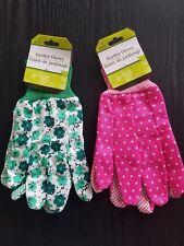 Women's Garden Collection Nitrile-Coated Fabric Garden Gloves