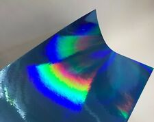 Oil Slick,Holographic Rainbow Sign Vinyl, Pick Color/Size, Oilslick New Colors
