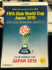 FIFA Club World Cup Japan flyer 2015 RIVER PLATE Barcelona Club America Auckland