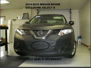 Lebra Front End Mask Cover Bra Fits 2014-2016 Nissan Rogue 14-16