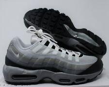 separation shoes a8607 9daaf Nike Men Air Max 95 iD Grey-White-Black sz 9  818592-