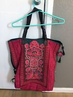 Large Handbag Hand-made in Thailand from Hmong Relic Embroideries
