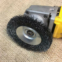100mm Crimped Wire Wheels Polish Brush M14 Thread for Grinder Rust Removal